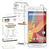 Orzly® - MOTO-G Premium Hartglas Displayschutzfolie aus Gehärtetem Glas 0,3mm Tempered Glass Screen Protector für MOTOROLA MotoG SmartPhone / Handy (2013)