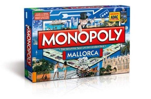 Preisvergleich Produktbild 42051 - Winning Moves - Monopoly Themen Edition: Mallorca