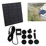 Bluelover 1.2 W Mini Solar Power Dc Brushless Sommersa Acqua Pompa Giardino Paesaggio Fontana Decorazione