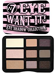 W7 Eye Want It 9 Colour Eye Shadow Collection Palette