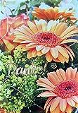 Dankeskarten ohne Innentext Motiv Blumen 10 Klappkarten DIN A6 Hochformat mit weißen Umschlägen im Set diverse Anlässe Hochzeit Geburtstag Danksagungskarten Dankeschön Karten Danke sagen K189