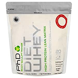 PhD Nutrition Diet Whey Meal Replacement Powder - Strawberry Delight, 1 kg