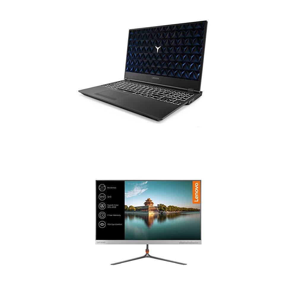Lenovo Legion Y530 Ordenador portátil gaming 15.6″ FullHD (Intel Core i5-8300H, 8GB de RAM, 1TB HDD, Nvidia GTX1050 de 4GB, Windows10)  + Monitor Lenovo L24q de 24″