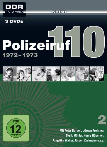 Polizeiruf 110 Box 2: 1972-1973 (DDR TV-Archiv) [3 DVDs]