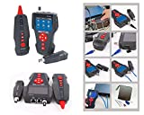 KALEA INFORMATIQUE Testeur Professionnel Réseau RJ45 RJ11 USB BNC : Mesure/Cartographie/Repère/Test PoE et PING/Enregistrement des Tests/Batteries Rechargeables...