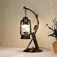 ZHIYUAN Creativo lusso guarnire regalo personalità tavolo camera da letto elegante arte antica cherosene lampada dimensioni: 470 mm * 290mm (questa prodotto non forniscono la lampadina)
