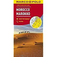 MARCO POLO Länderkarte Marokko 1:800 000 (MARCO POLO Kontinental /Länderkarten)