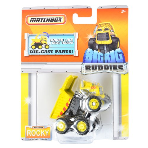 Matchbox Big Rig Buddies Rocky the Robot Truck Rig Truck