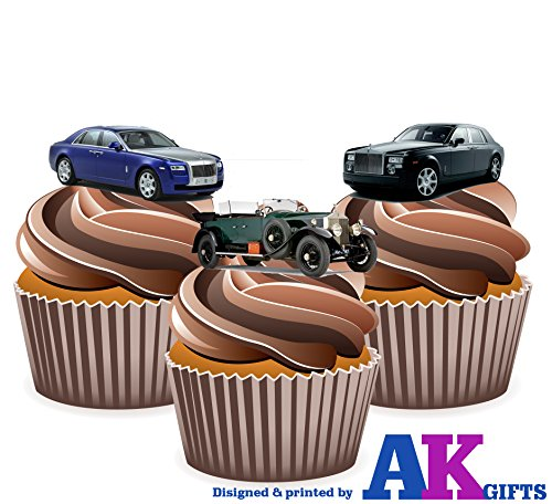 rolls-royce-car-mix-cake-decorations-12-edible-wafer-cup-cake-toppers