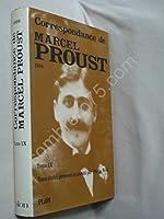 Correspondance, tome 9 (1909) de Marcel Proust