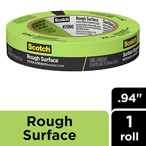 ScotchBlue 20601 cartouche d'un ruban de masquage pour surfaces Hard-to-stick - Vert