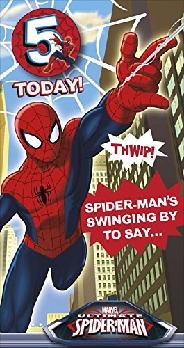 ultimate-spiderman-birthday-card-age-5-with-badge