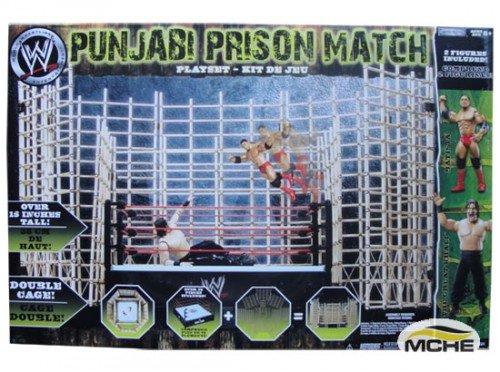 Punjabi Ring Playset mit Great Khali & Batista Figuren - WWE