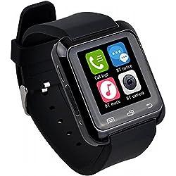Zolimx Bluetooth Smart-Armbanduhr Pedometer gesund für iPhone (Weiß)