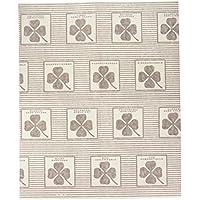 Wenko 2226020100 Dunst-Flachfilter - 2er Set, mit Sättigungsanzeige, für alle gängigen Abzugshauben, Zellwolle, weiß