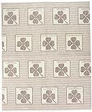 WENKO 2226020100 Dunst-Flachfilter, 2er Set, mit Sättigungsanzeige, für alle gängigen Abzugshauben, Zellwolle, 57 x 47 cm, weiß