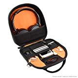 Geekria ELITE Headphone Shoulder Bag / Case Fit Sony MDR-950BT, MDR10RBT, ATH M50x, Bose QC25, QC35, Parrot Zik, B&O H6, H8, Headset Travel Cross-body Bag
