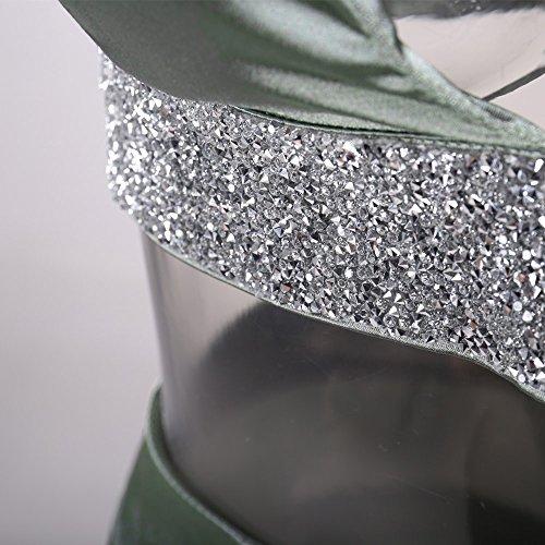 Missord - Robe - Cocktail - Sans Manche - Femme Gras/vert