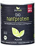 JoyFoods Bio Hanfproteinpulver, 125 g