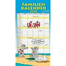 Uli Stein Familienkalender 2018