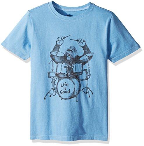 Life is good Boys Crusher Gorilla Drumming