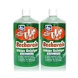 2x Dr. Becher Becharein Gläser Reiniger Hochkonzentrat / 1 Liter