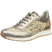 Dorking Viola, Zapatos de Cordones Oxford para Mujer, Gris (Gray), 40 EU
