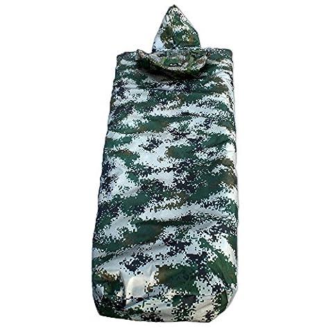 Zhudj Sac De Couchage Camouflage Numérique, Manteau, Sac De Couchage, Sac De Couchage Camouflage Simple Épaississement, Sac De Couchage Camouflage, 210*70*40