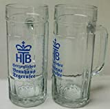 2 Stück Tegernseer 0,3l Bierkrug