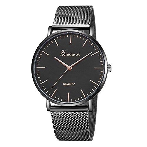 Bestow Relojes de Pulsera de Pulsera de Acero Inoxidable de Cuarzo para  Mujer Ginebra Cl¨ 524c019e972d