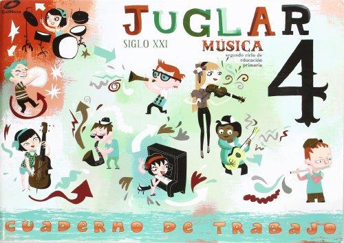 Proyecto Juglar Siglo XXI. Música. EP 4 - Cuaderno 4 por Vv.Aa.