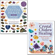 Philip Permutt 2 Books Collection Set - The Crystal Healer: Crystal prescriptions that will change your life forever,The Complete Guide to Crystal Chakra Healing: Energy medicine for mind, body and s