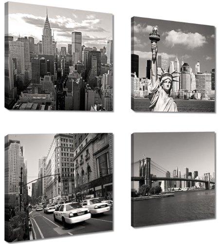 cuadros-en-lienzo-4x20-x-20-cm-nr-6901-nueva-york-enmarcado-y-listo-para-colgar-calidad-de-la-marca-