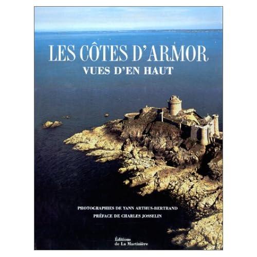 Les Côtes d'Armor vues d'en haut