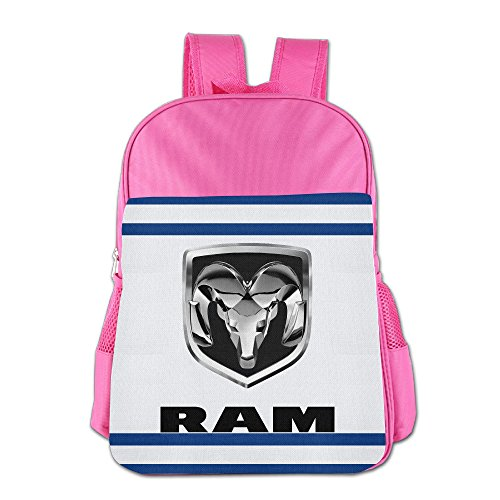launge-kids-dodge-ram-logo-school-bag-backpack