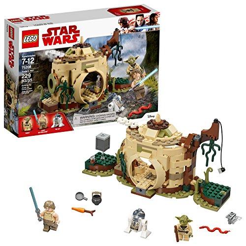 Empire Strikes Back Yoda's Hut 75208 Buildin g Kit (229 Piece) ()