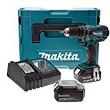 Makita DHP456RMJ 18 V Combi Drill 2-Speed Cordless Li-Ion with MakPac Carry Case