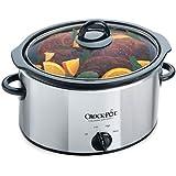 Crock Pot Crock-Pot 3.5L Slow Cooker Polished Stainless Steel Finish