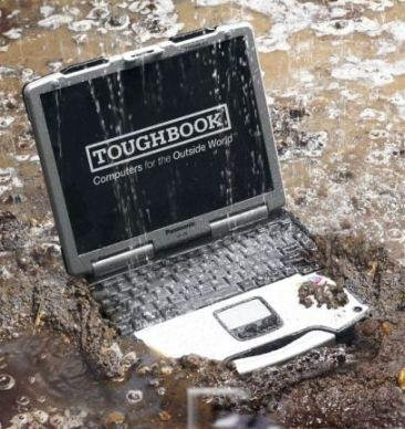 Panasonic Toughbook CF-29 33,78 cm Notebook Computer Intel Centrino Pentium 1,6 gHz Prozessor 1,5 GB RAM 80 GB HDD Windows XP Professional