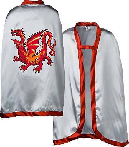 Preisvergleich Produktbild Liontouch 29303LT Ritter Umhang Bernstein Drache / Teil von Kostüm