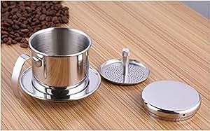Bournetech Vietnamese Coffee pour over Hario, filtro di carta free Portable Coffee Maker