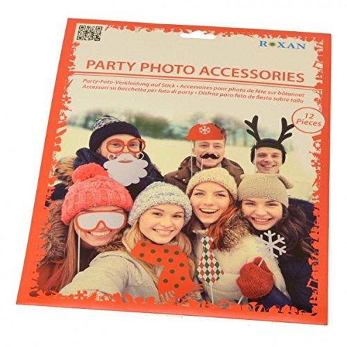 Weihnachten Photo Booth - Christmas Foto Verkleidung Foto Requisite X-Mas