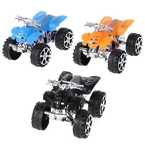 ZJL220 Kinder Spielzeug Zurückziehen Mini Auto Große Trägheit Simulation 4 Räder Motorrad Strand Motocross Modell