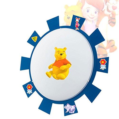 Wand Leuchte Decken Lampe Kinder Zimmer Strahler Sonne im Set inklusive Winnie Pooh Sticker