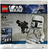 LEGO Star Wars White Boba Fett Minifigure -SEALED- 30th Anniversary Limited Edition (McQuarrie Concept) Rare (Consists of only 5 peices)