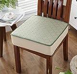 DADAO Stuhl Polster für esszimmer stühle Auto Platz bambusmatte verdickung Schwamm - 2cm-F 40x40cm(16x16inch)