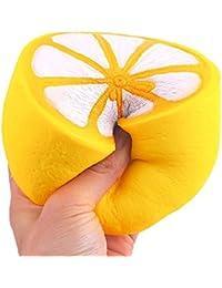 Jouets de décompression Fluffy Floam, Manadlian Jumbo lente Rising squishies jouets parfumés squeeze pastèque stress soulagement jouet