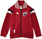 adidas Winter Hoops Anthem Jacket - Giacca da ragazzo, rosso (NBA-MHE), 140