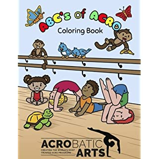A B C's of Acro: A Coloring Book