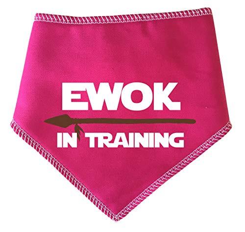 Spoilt Rotten Pets Ewok Halstuch für Hunde, mit Speer-Design, Hot Pink